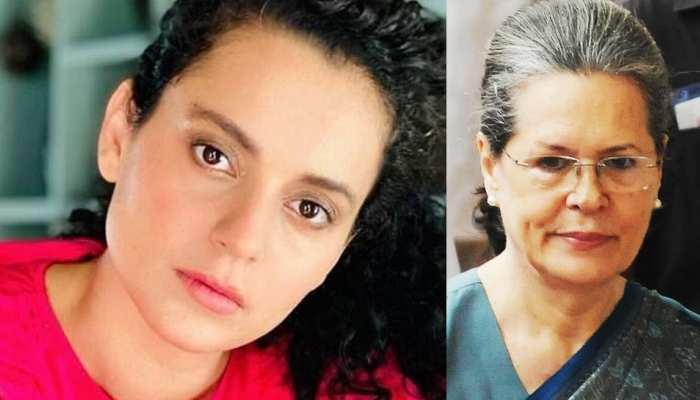 ऑफिस तोड़े जाने से नाराज Kangana Ranaut ने सोनिया गांधी से पूछा तीखा सवाल