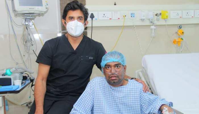 चमत्कार! देश में पहली बार कोरोना मरीज का हुआ डबल लंग ट्रांसप्लांट