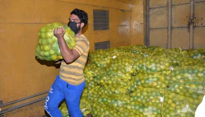 दक्षिण भारत की पहली किसान रेल पहुंची दिल्ली, रिकॉर्ड समय में सफर हुआ पूरा