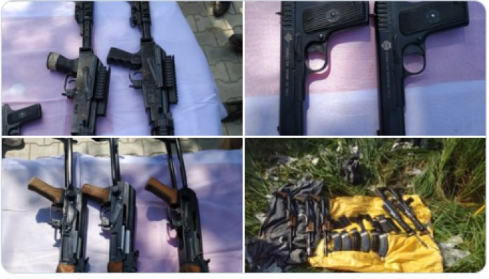 Terror plan: आतंकियों तक हथियार पहुंचाने की साजिश का भंडाफोड़