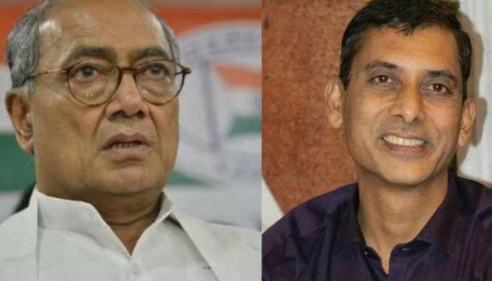 BJP का आरोप, चावल घोटाले के आरोपी का सांसद दिग्विजय सिंह से है कनेक्शन