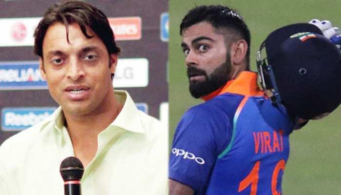 पाकिस्तान के पूर्व तेज गेंदबाज शोएब अख्तर ने विराट कोहली को ये क्या कह दिया