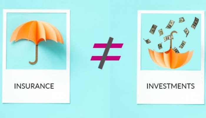 क्या आप भी 'निवेश' और 'बीमा' को एक ही मानते हैं, अपनी गलतफहमी दूर कर लीजिए