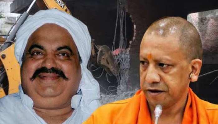Operation माफिया: अतीक अहमद के 60 करोड़ रुपये की अवैध संपत्ति पर चला बुलडोजर