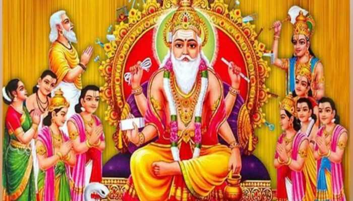 कर्म ही पूजा सिद्धांत के सजीव स्वरूप हैं देव शिल्पी विश्वकर्मा, आज है पूजन