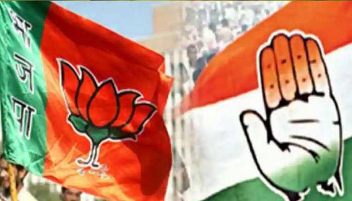 संभल: कांग्रेस और BJP कार्यकर्ताओं के बीच झड़प, पुलिस को करना पड़ा बीच-बचाव