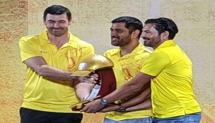 IPL 2020: CSK की अवॉर्ड नाइट में कप्तान धोनी को भी मिला ये इनाम