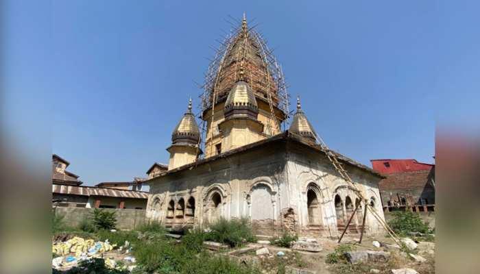 J&K: 30 साल से वीरान था ये मंदिर, विरासत को सहेजने का काम शुरू