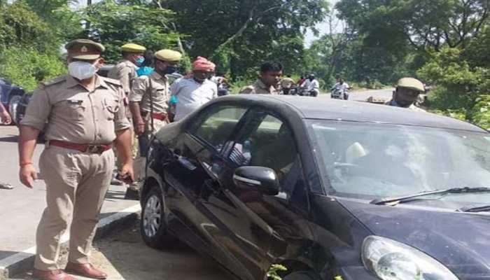 लखनऊ: ड्राइविंग सीख रही महिला ने मजदूरों पर चढ़ाई कार, एक की मौत