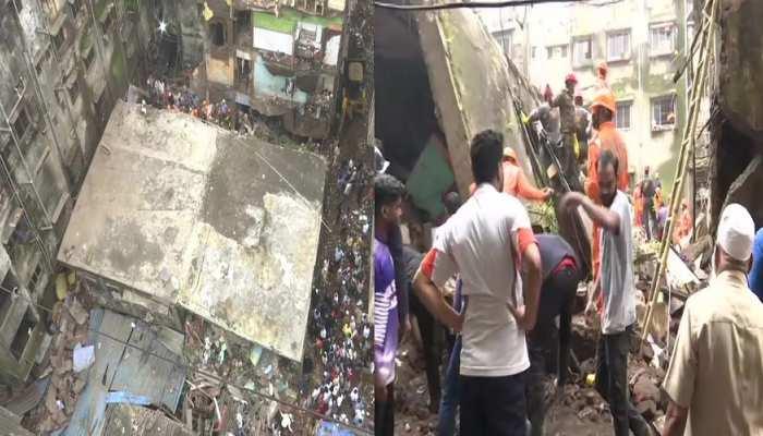 महाराष्ट्र के भिवंडी में भीषण हादसा, इमारत ध्वस्त होने से 10 लोगों की मौत 11 घायल