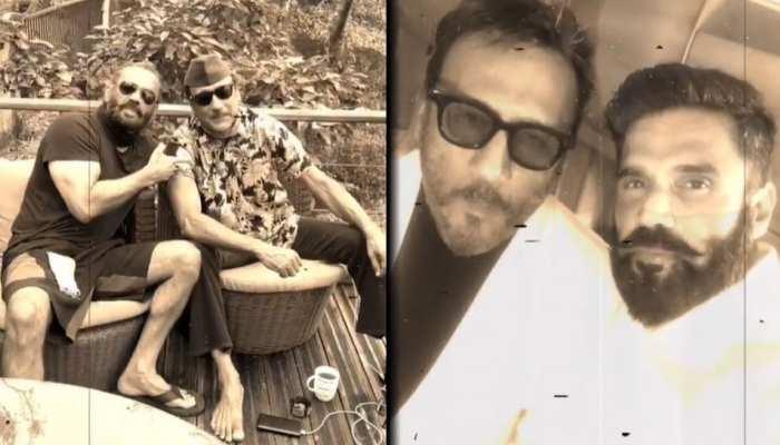 Suniel Shetty और Jackie Shroff की दोस्ती को हुए 45 साल, शेयर किया VIDEO