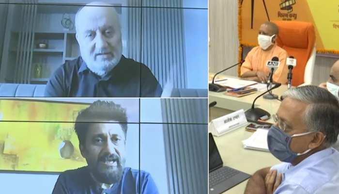 UP में फिल्म सिटी को लेकर बॉलीवुड की दिग्गज हस्तियों ने CM योगी को दिए सुझाव