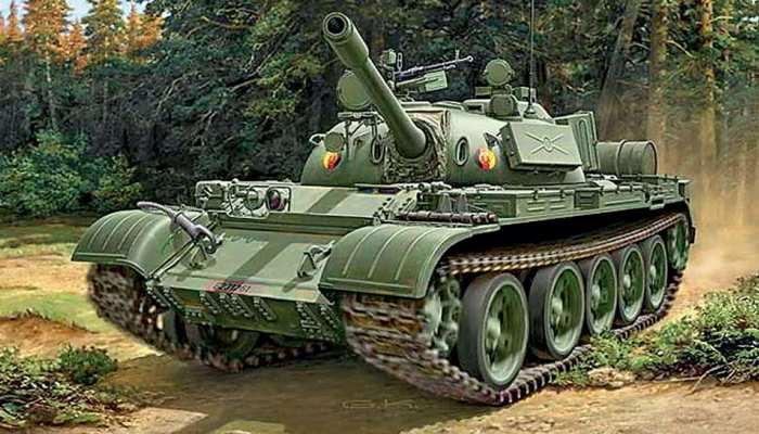 भारतीय सेना ने दी जालोर जिले को अनूठी सौगात, विजय स्मारक के लिए भेजे टी-55 टैंक