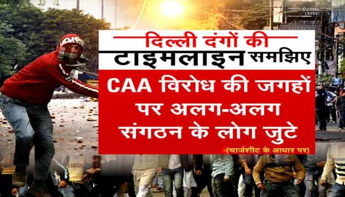 big revelation about delhi riots see the timeline