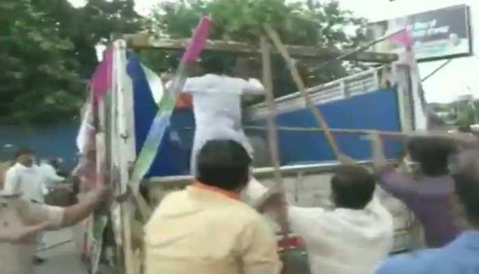 बिहार में भिड़ंत: BJP कार्यकर्ताओं पर 'जाप' कार्यकर्ताओं को पीटने का आरोप