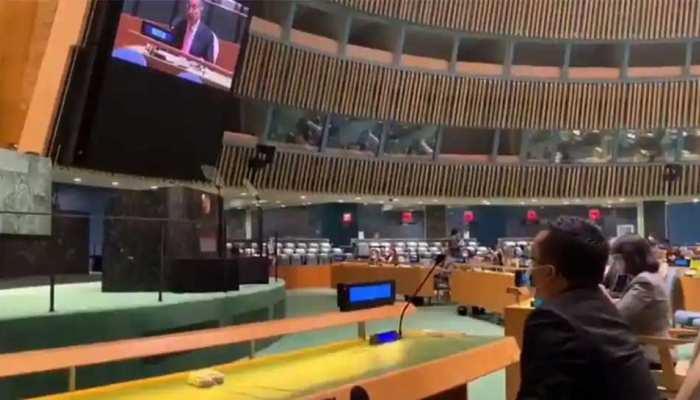 इमरान खान के भाषण के बीच भारत ने UN जनरल असेंबली से वॉक आउट किया