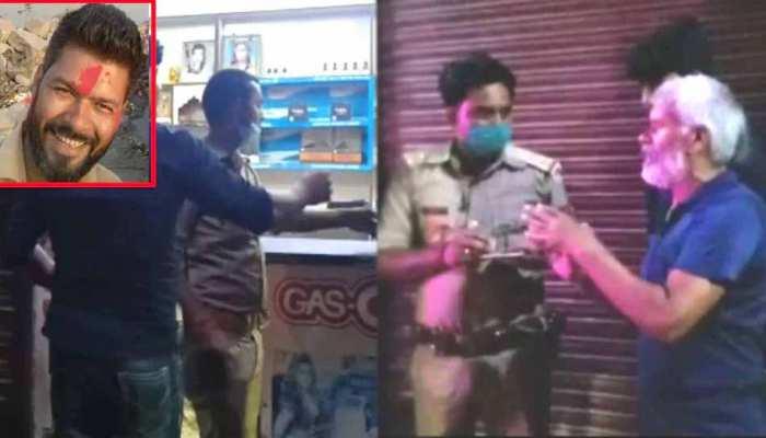 लखनऊ: आशुतोष त्रिवेदी हत्याकांड के आरोपी जय सिंह ने पुलिस के सामने किया सरेंडर