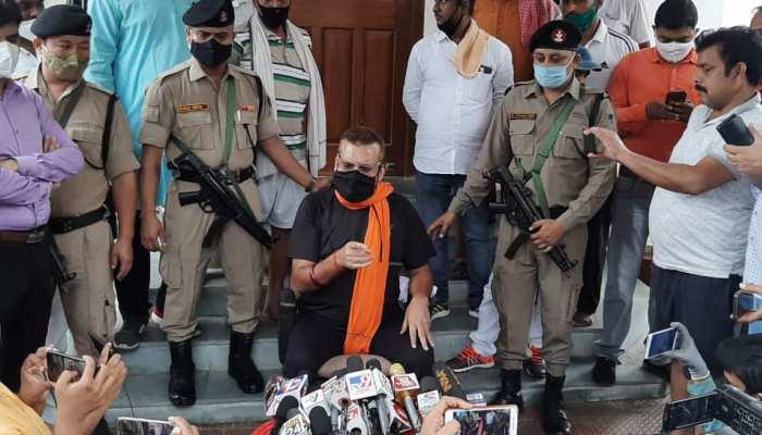 गुप्तेश्वर पांडेय ने की CM से मुलाकात, बोले- अभी राजनीति में आने का फैसला नहीं लिया