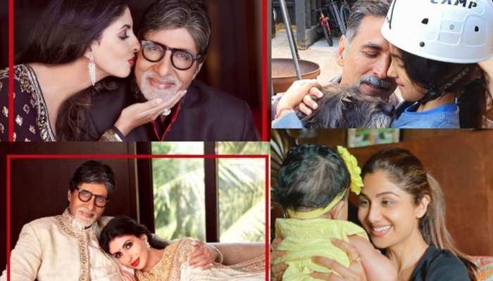 बॉलीवुड सितारों ने इस तरह से मनाया Daughter's Day, 'बिग बी' से लेकर अक्षय कुमार ने किया पोस्ट