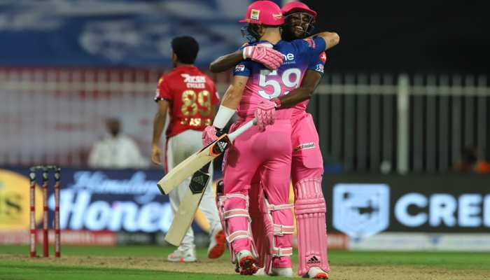 IPL 2020 KXIP vs RR: Kings XI Punjab vs Rajasthan Royals, Full Match reports in Pictures