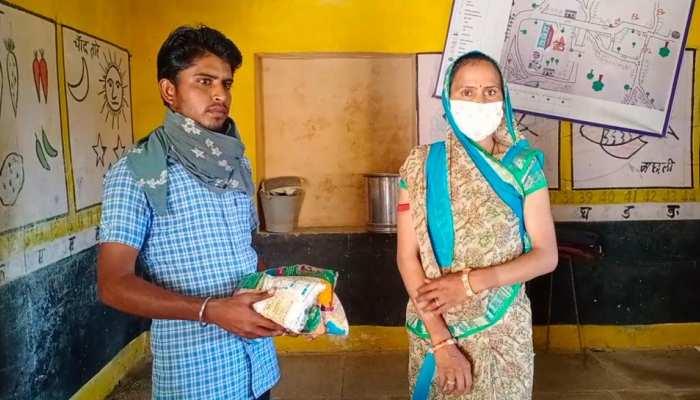 टोंक में जान से खिलवाड़, कीड़े वाला पोषाहार खाने को मजबूर गर्भवती महिलाओं