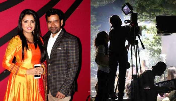 UP में फिल्म सिटी की स्थापना से भोजपुरी इंडस्ट्री को मिलेगी उड़ान, आम्रपाली-निरहुआ ने जताई खुशी
