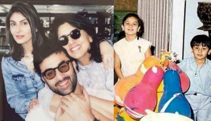 Ranbir Kapoor के जन्मदिन पर बहनों ने बरसाया प्यार, रिद्धिमा-करीना ने शेयर की क्यूट Photos
