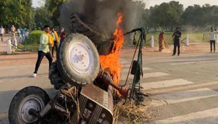 इंडिया गेट पर ट्रैक्टर में आग लगाने वाले 5 प्रदर्शनकारी गिरफ्तार, ऐसे बनाई गई घटना की योजना