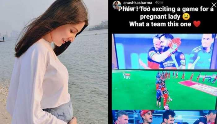 IPL 2020: सुपर ओवर में RCB की जीत पर अनुष्का शर्मा ने ऐसे दिया रिएक्शन