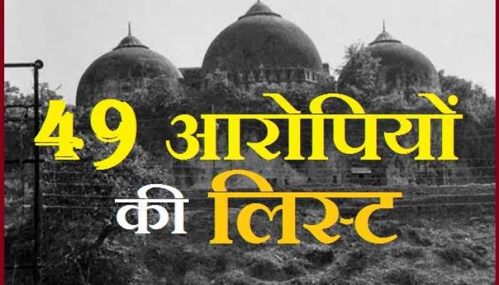 Babri Demolition Case: 49 में से ये 32 आरोपी ही जिंदा हैं, 17 की हो चुकी है मौत