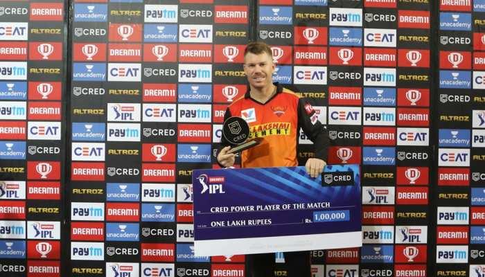 IPL 2020 DC vs SRH: जानिए जीत के बाद हैदराबाद के कप्तान डेविड वॉर्नर ने क्या कहा