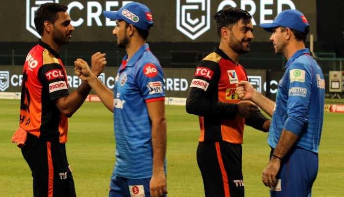 IPL 2020 DC vs SRH: Delhi Capitals vs Sunrisers Hyderabad Full Match Report in Pictures
