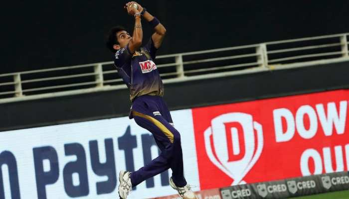 IPL 2020: कमलेश नागरकोटी ने हवा में उड़ते हुए पकड़ा हैरतअंगेज कैच