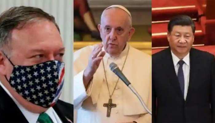 वेटिकन ने US पर लगाया यह आरोप, माइक पोम्पियो से नहीं मिले पोप फ्रांसिस