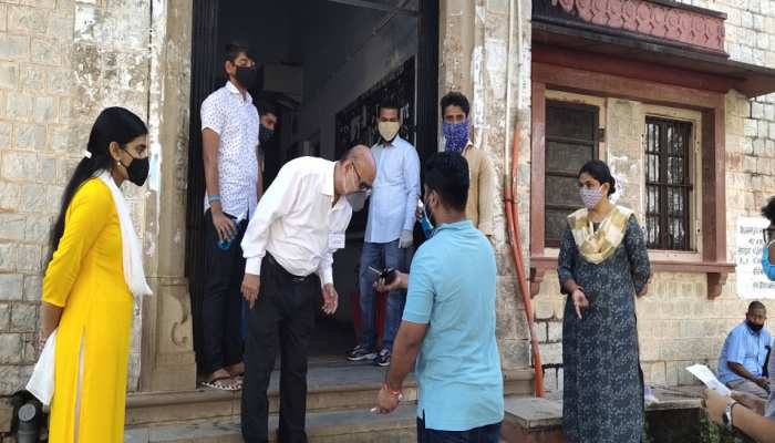 राजस्थान: UPSC EXAM में कोविड नियमों को लेकर प्रशासन सख्त, किए गए पुख्ता इंतजाम