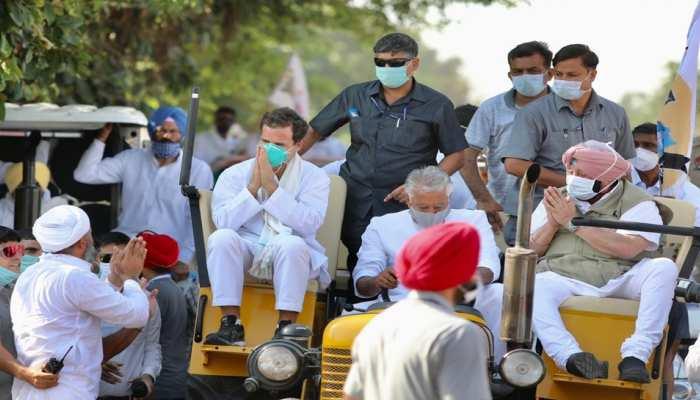 पंजाब में गरजे राहुल गांधी, बोले- सत्ता में आते ही कूड़ेदान में फेंक देंगे तीनों कृषि कानून