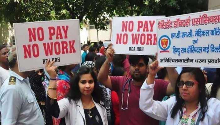 दिल्ली: वेतन नहीं मिलने से नाराज हिंदू राव के डॉक्टर हड़ताल पर