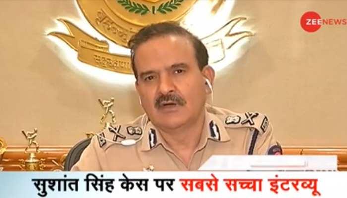 सुशांत केस: मुंबई पुलिस कमिश्नर का बड़ा बयान, 'पुलिस को बदनाम करने की रची गई साजिश'