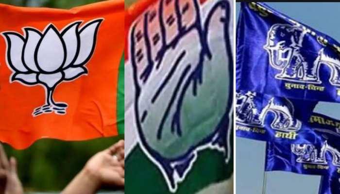 MP उपचुनावः किसके खिलाफ कौन लड़ेगा, देखिए BJP-कांग्रेस और BSP की पूरी लिस्ट
