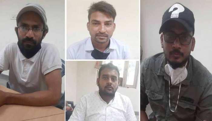 हाथरस कांड: गिरफ्तार PFI सदस्यों पर FIR दर्ज, पत्रकारिता की आड़ में रच रहे थे दंगों की साजिश