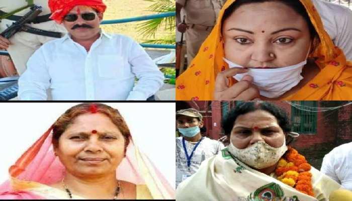 बिहार चुनाव में दबंगों की पत्नियां आजमा रहीं हाथ, बिसात बिछाने में जुटे प्रत्याशी