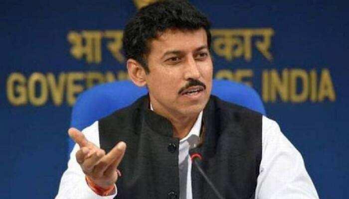 राजस्थान की कानून-व्यवस्था को लेकर राहुल-प्रियंका ने कभी संवेदना भी प्रकट नहीं की: राज्यवर्धन राठौड़
