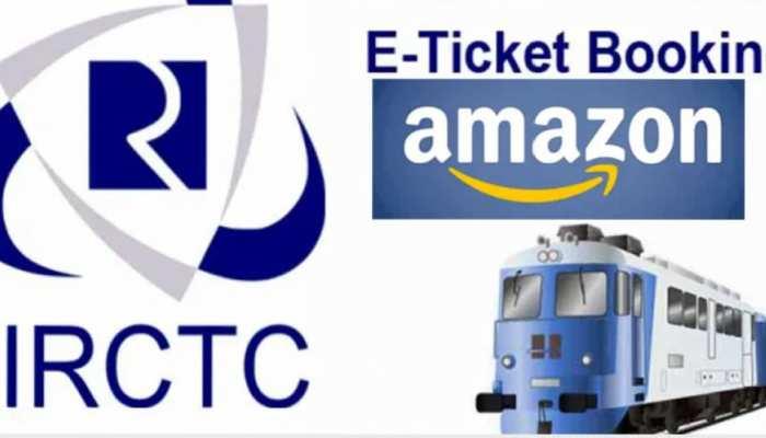 अब Amazon पर बुक करिए ट्रेन का टिकट, IRCTC के साथ किया करार