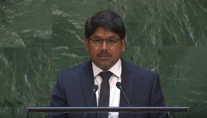 UN में भारत ने फिर लगाई पाकिस्तान को लताड़, अंतरराष्ट्रीय समुदाय से की यह अपील