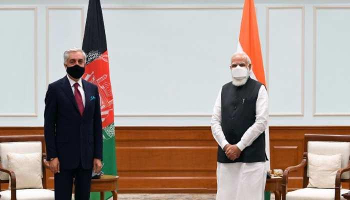 अफगान वार्ताकर डॉ अब्दुल्ला ने PM मोदी से की मुलाकात, इस मुद्दे पर हुई बात