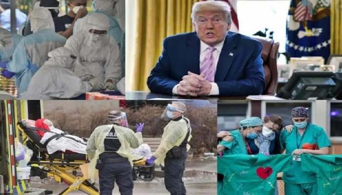 अमेरिका में 2 लाख से ज्यादा मौत और Donald Trump ने कहा 'थैंक्स कोरोना'