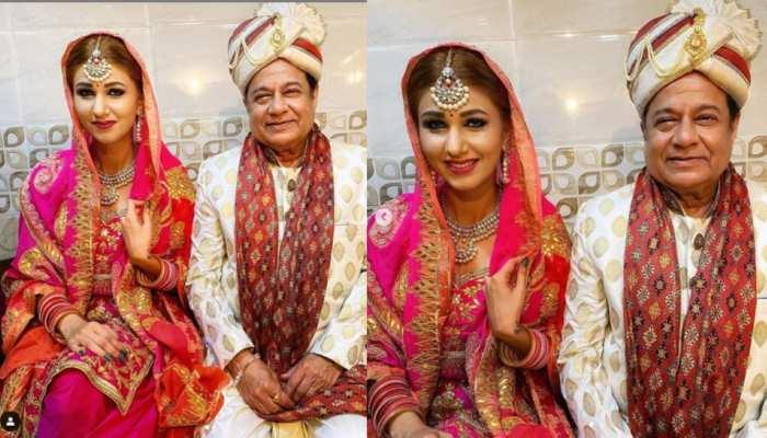 Jasleen Matharu and Anup Jalota wedding photos went viral