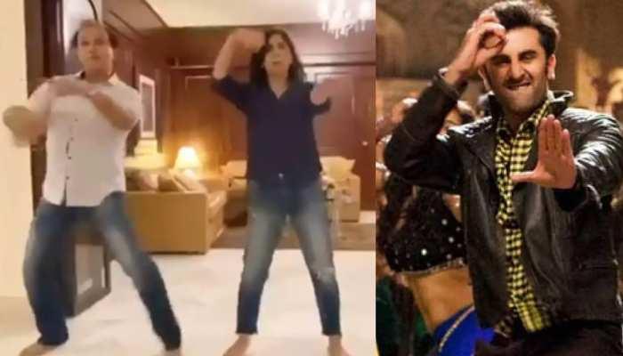 बेटे रणबीर की फिल्म के गाने पर नीतू कपूर ने किया डांस, वायरल हुआ VIDEO