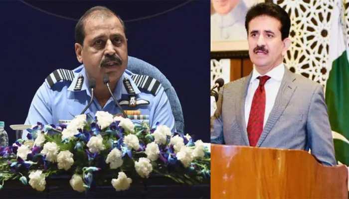 वायुसेना प्रमुख भदौरिया की चेतावनी से पाकिस्तान खौफजदा, डर छिपाने के लिए दिया यह बयान