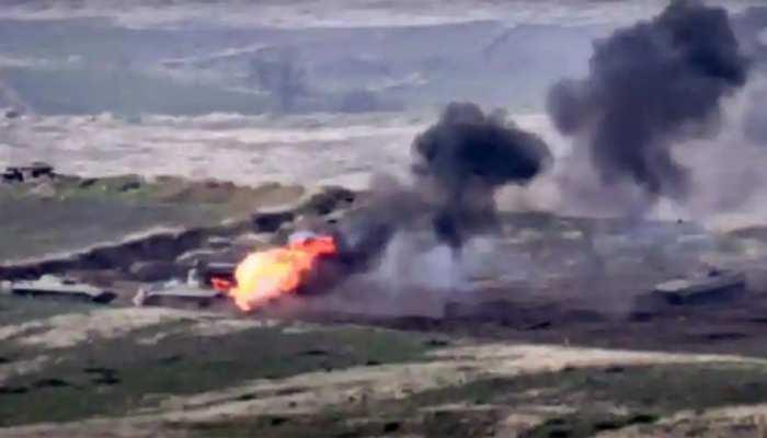 अर्मेनिया का दावा: आतंकवादियों की मदद ले रहा अजरबैजान, जारी किया वीडियो
